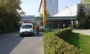 Транспорт на покойник Мюнхен, Германия